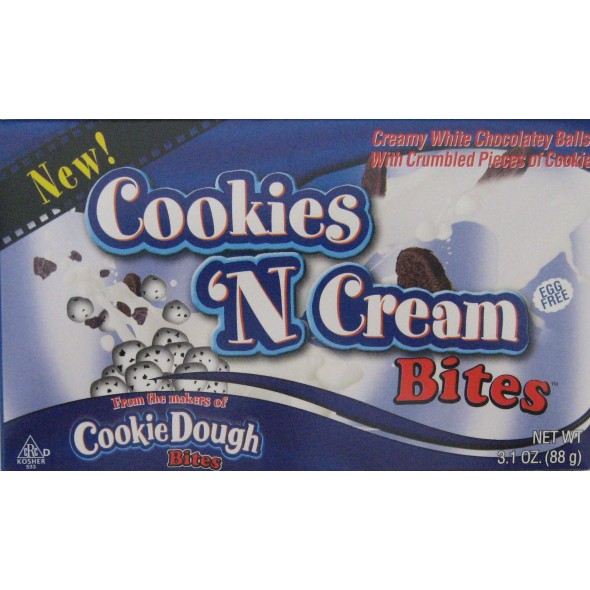Cookie Dough Bites: Cookies 'n' Cream