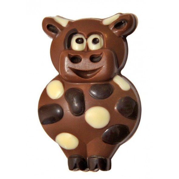 Chocolate Cartoon Cow
