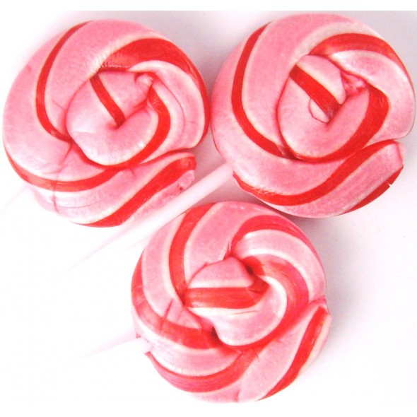 Swirl Lollipop: Bubblegum
