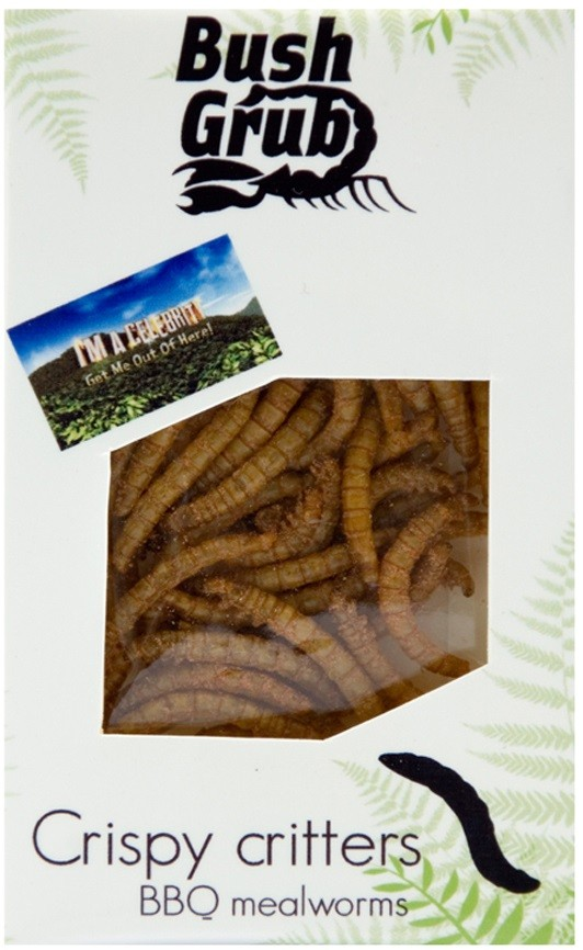 Bush Grub: Crispy Critters BBQ Meal Worms