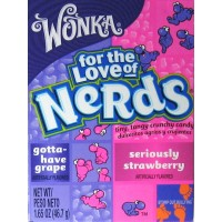 Wonka Nerds: Grape & Strawberry