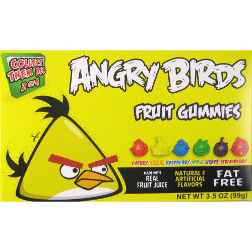 Angry Birds Yellow Box