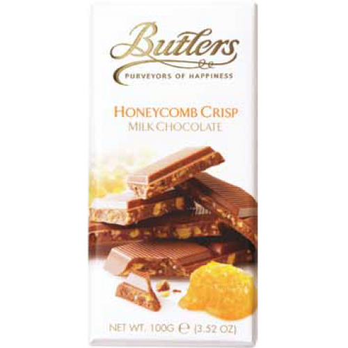 Butlers Milk Chocolate Bar With Honeycomb Crisp