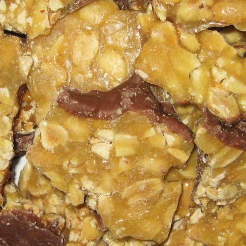 Peanut Brittle: Chocolate