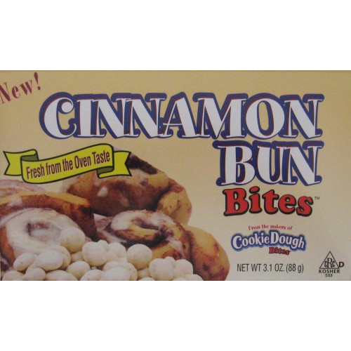 Cookie Dough Bites: Cinnamon Bun