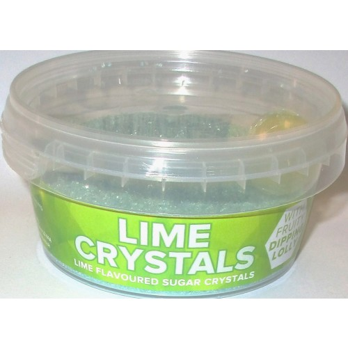 Sherbet Crystals: Lime
