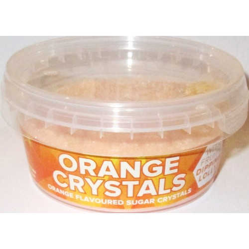 Sherbet Crystals: Orange
