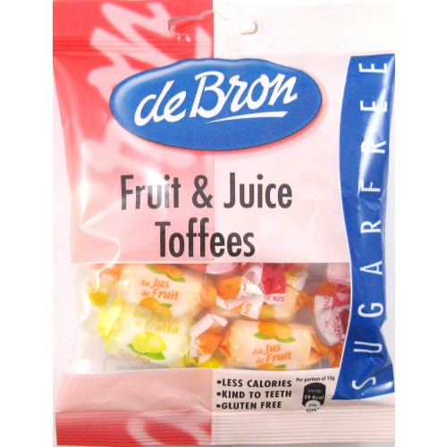 De Bron Fruit And Juice Toffees