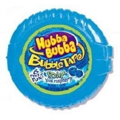 Hubba Bubba Bubble Tape: Sour Blue Raspberry