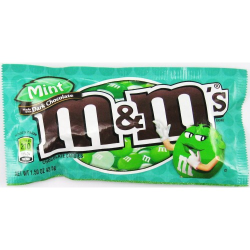 M&M'S  Mint - 43g Bag