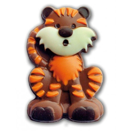 Chocolate Cartoon Tiger