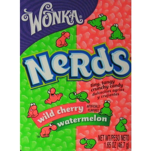 Wonka Nerds: Wild Cherry & Watermelon
